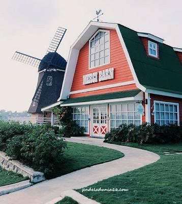 Serunya Liburan Di Merci Brand Kincir Angin Raksasa Kota Medan Ala Belanda