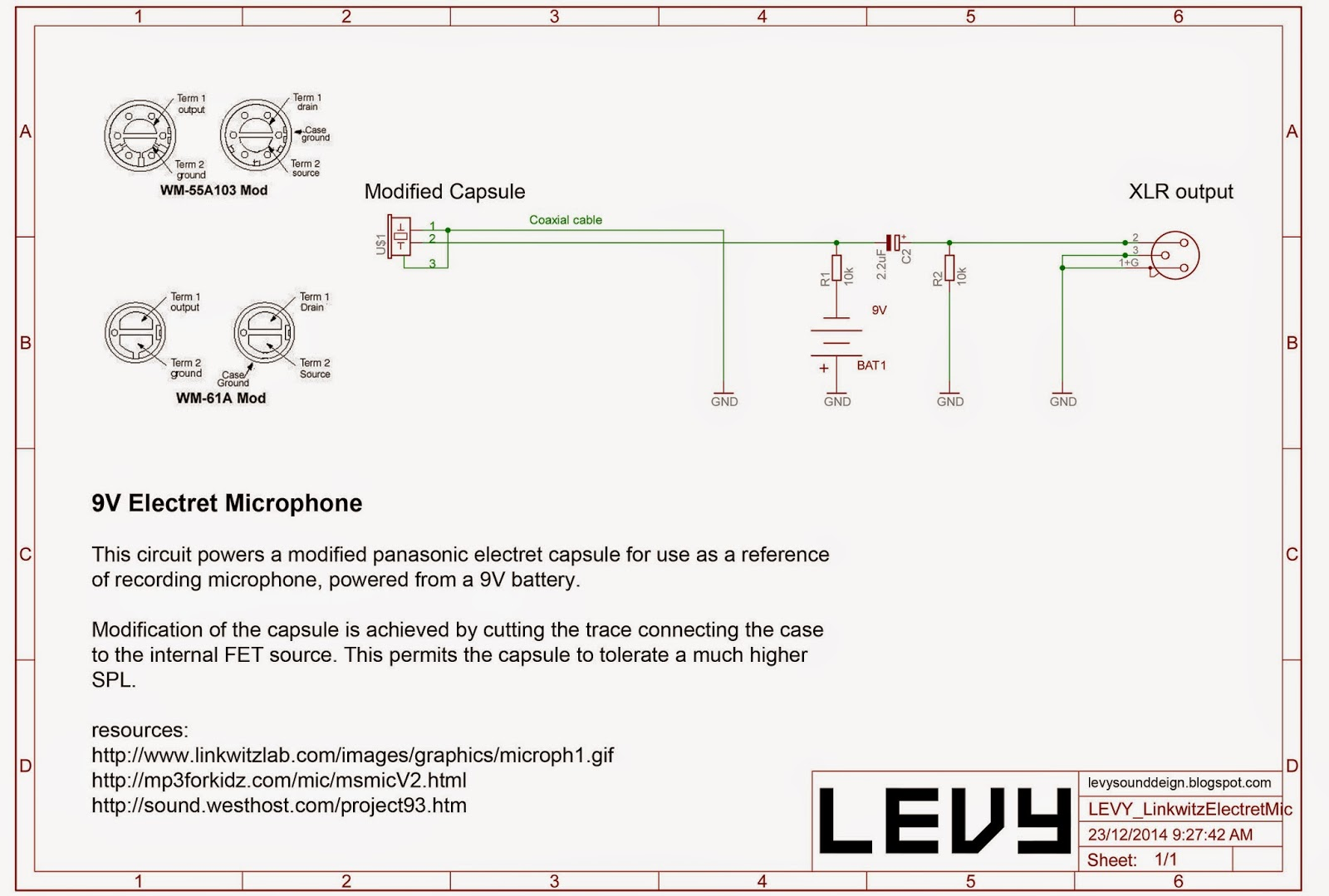 Electret Mic Schematic Trusted Wiring Diagram Fileelectret Condenser Microphone Schematicpng Wikimedia Commons Levy Sound Design 9v Panasonic Dynamic