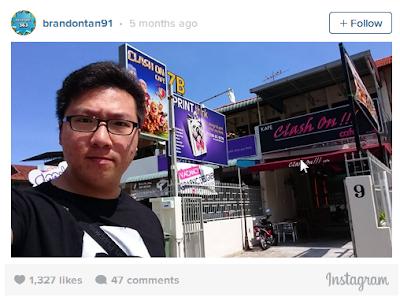 brandon instagram coc tertinggi