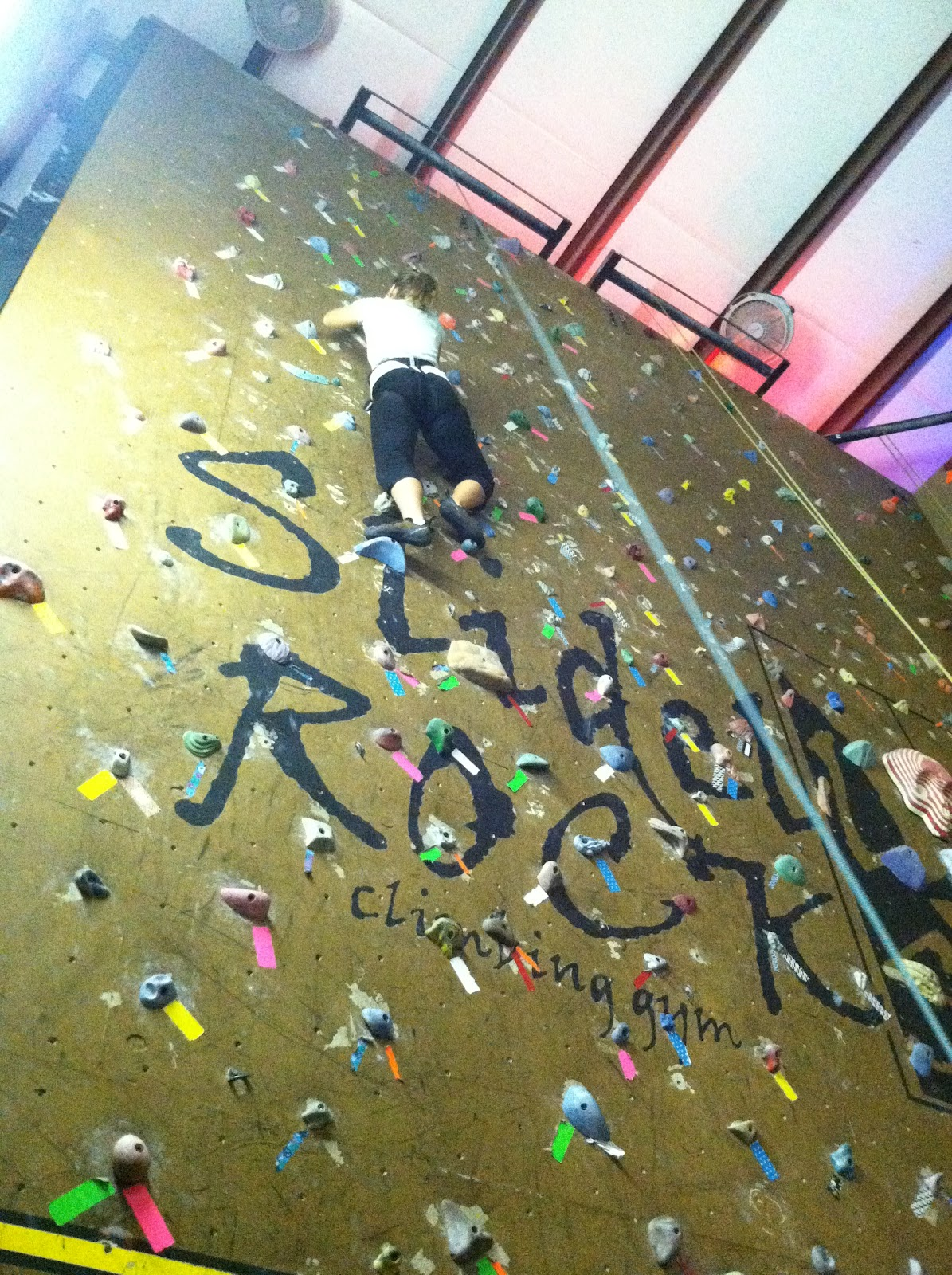 Slidell rock climbing