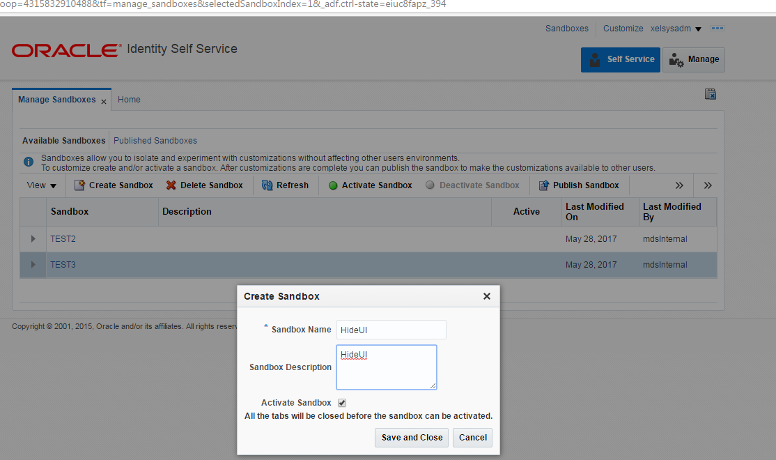 Cloud and Mobile Security: OIM 11G R2 PS3 Lab 13: How to