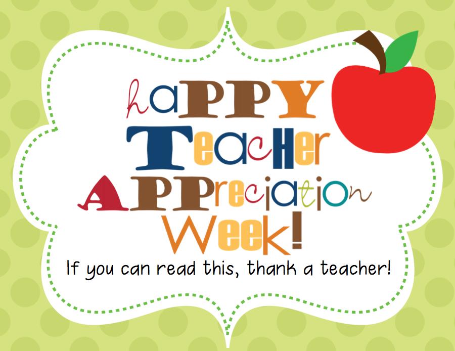 Teacher Appreciation Week Clip Art Images - Frompo