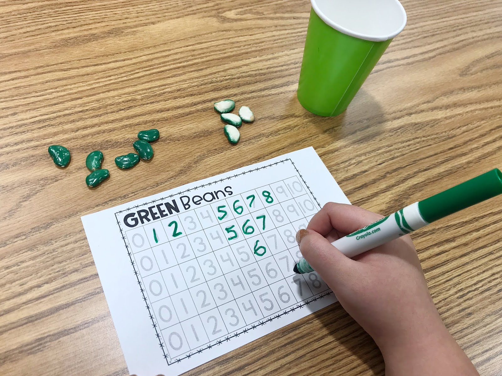 The Primary Gal Simple Daily Routines For Number Recognition Amp Counting