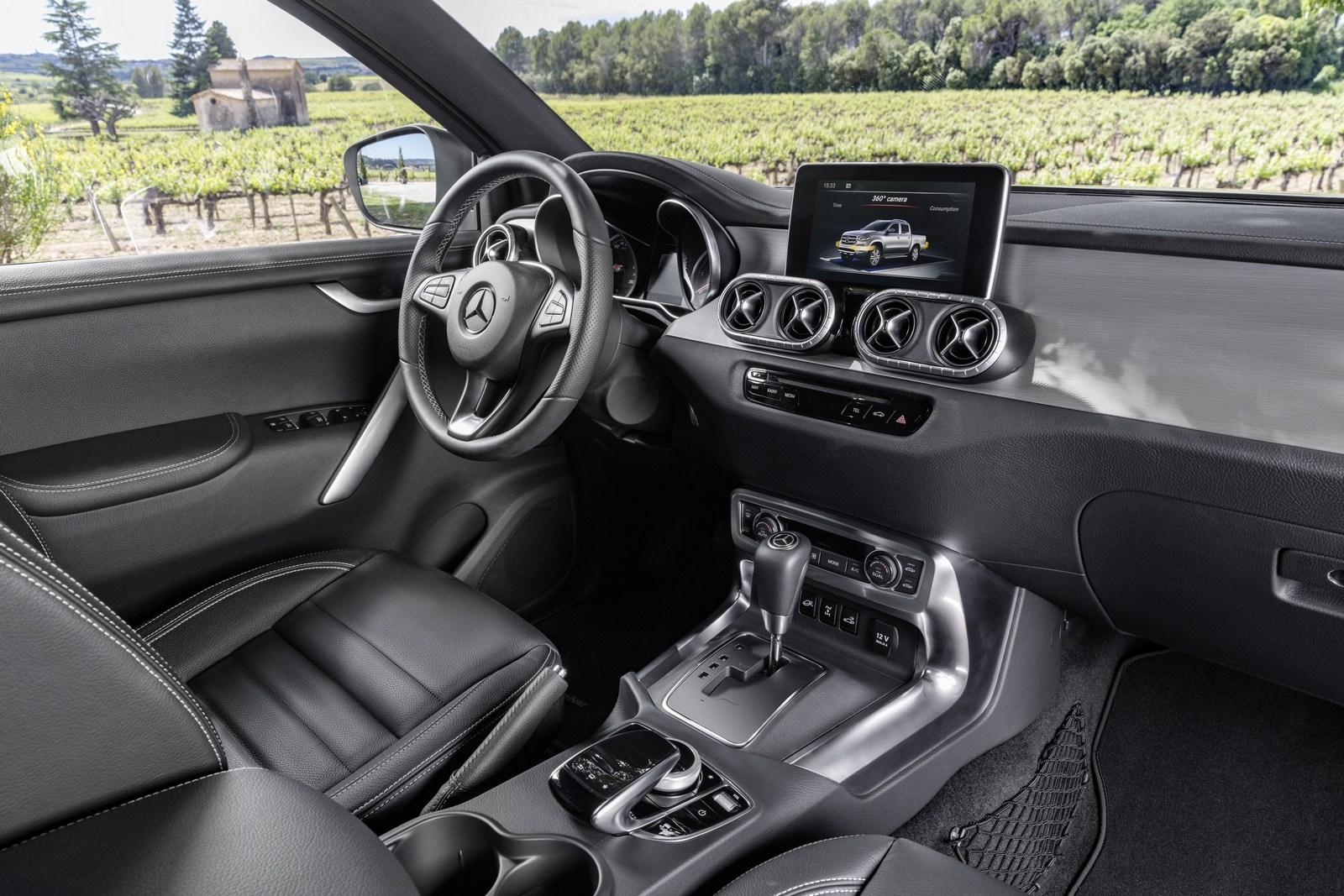 Mercedes X Serisi Pikap Tan T Ld Sekiz Silindir