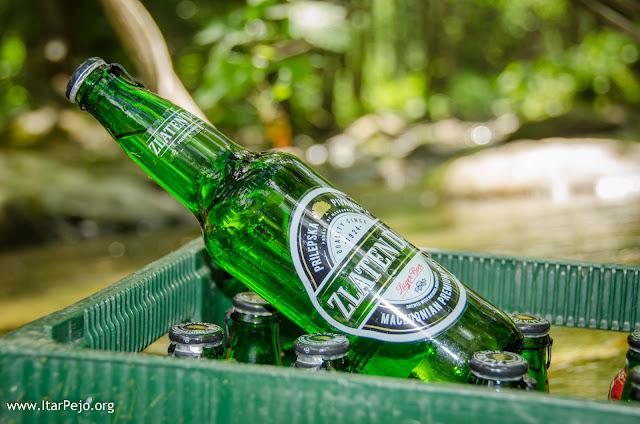 Cold beer, Gradeska river, Mariovo region, Macedonia