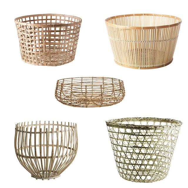 lampa z kosza gdzie kupić, kosz bambusowy