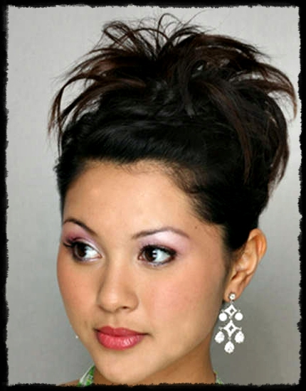 Half up simple Hairstyle