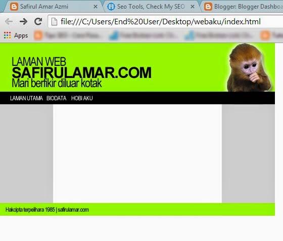 membina website menggunakan adobe photoshop