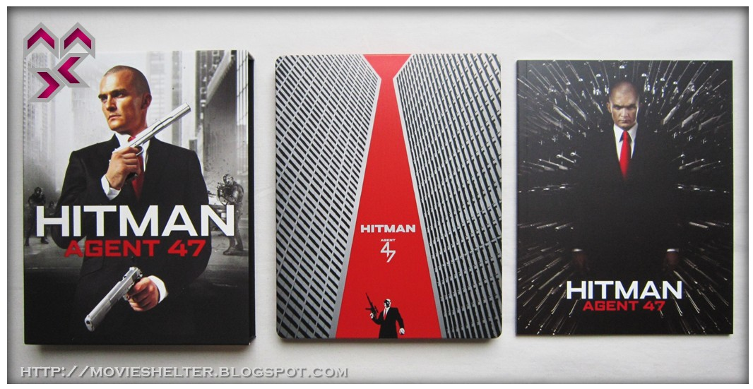 Movie Shelter Destination Point For Movies Hitman Agent 47 Full Slip Limited Steelbook Edition Black Barons