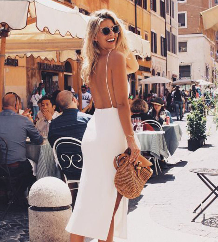 Tendência: Vestidos com costas à mostra (ou backless dresses)