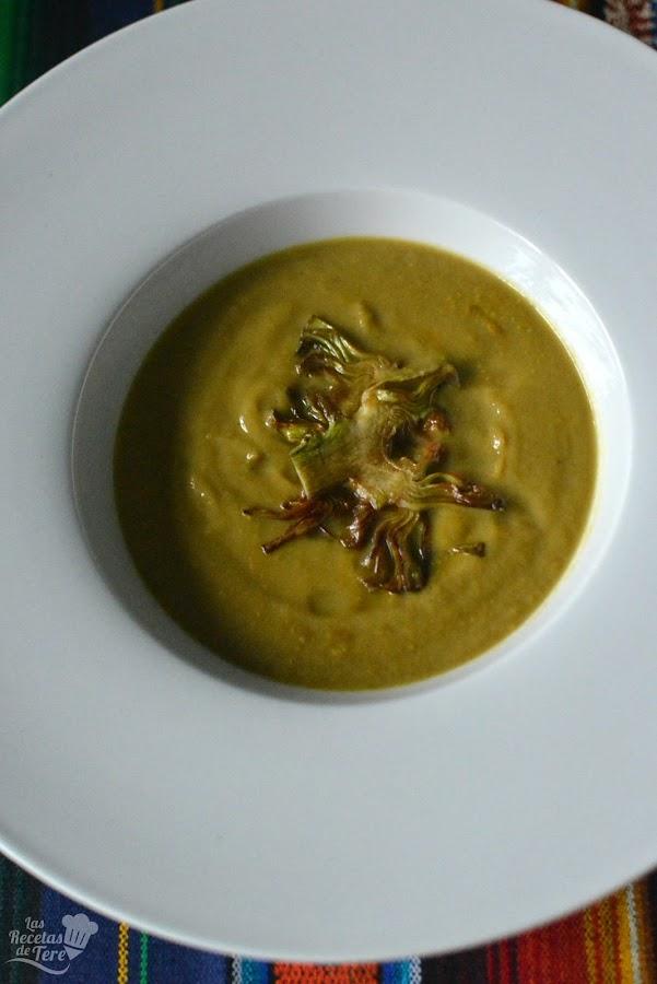 receta de crema de alcachofas tererecetas 05