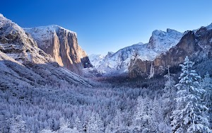 Yosemite National Park Winter