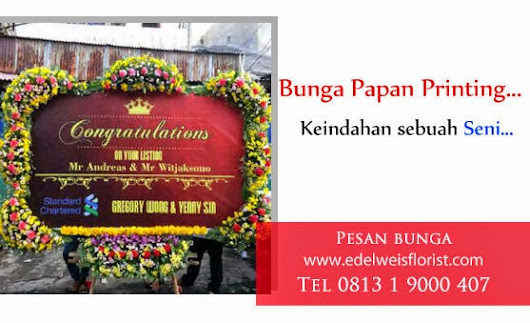 Bunga Papan Digital Printing
