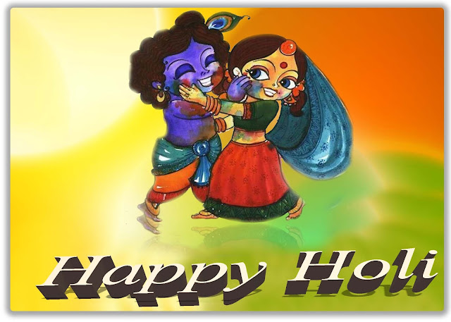 Happy Holi Greetings with Quotes for Family