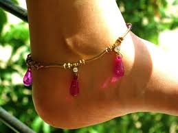 bead anklets designs in Belgium