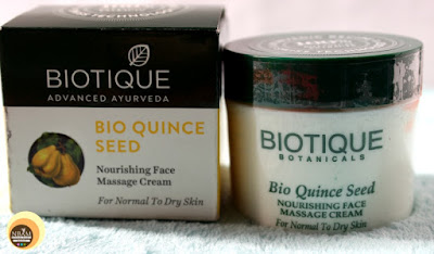 Biotique Bio Quince Seed Nourishing Face Massage Cream