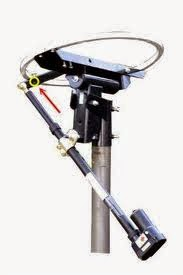 rotator terpasang