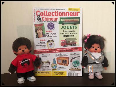 collectionneur et chineur, kiki, monchhichi vintage eighties