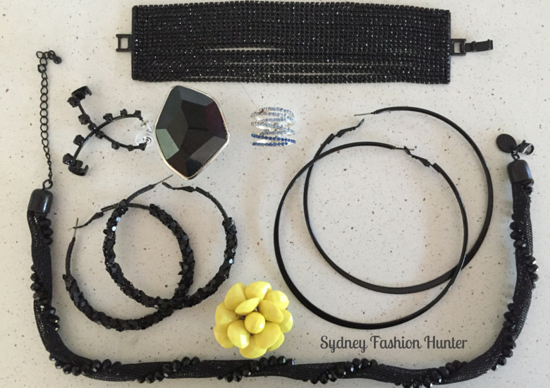 Selection Of Lovisa Black Jewellery