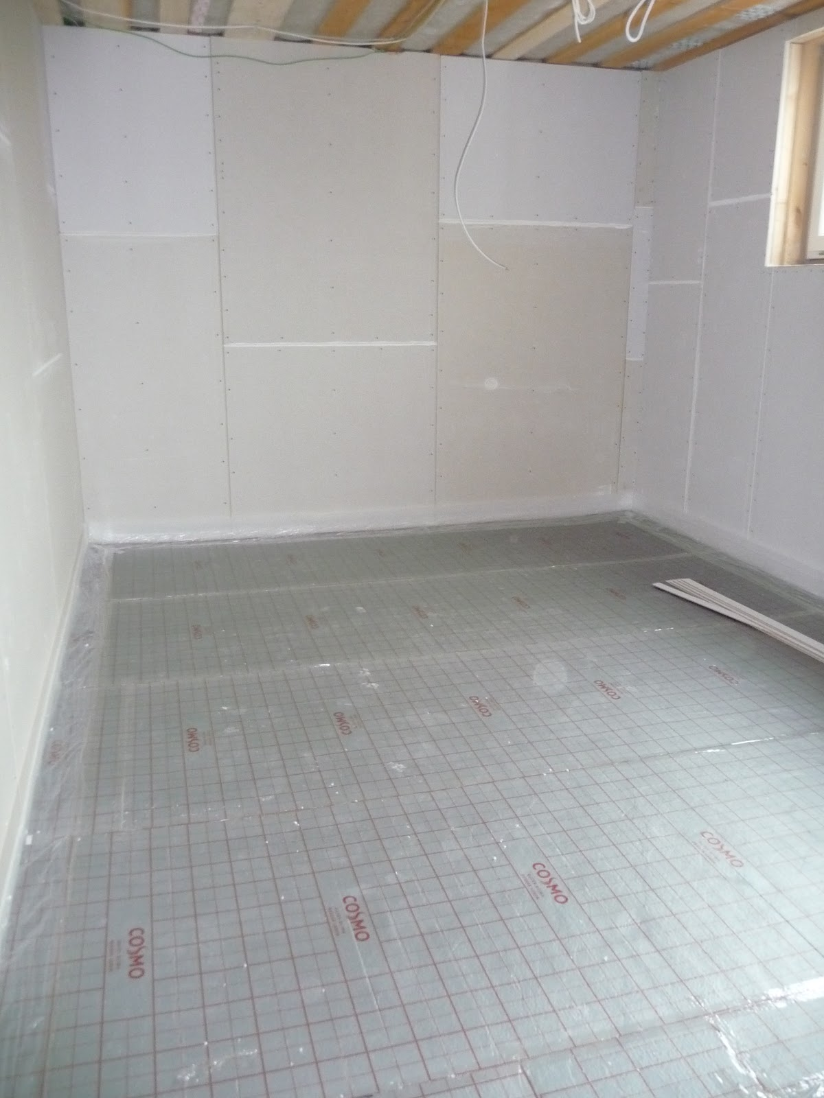 Tackerplatte Fußbodenheizung
