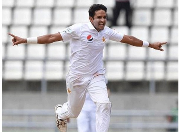 Out of the third Test against Mohammad Abbas New Zealand.