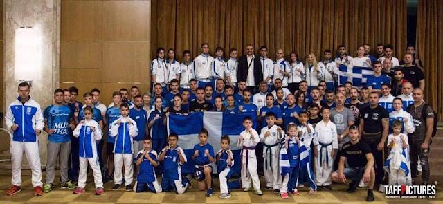 Με χρυσά και ασημένια μετάλλια επέστρεψαν οι αθλητές του ALTOUNIS FIGHT TEAM από το παγκόσμιο της IKSA