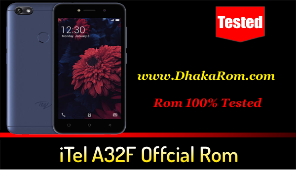 iTel A32F Flash File Without Password Download - Cm2