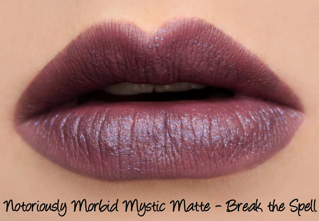 Notoriously Morbid Mystic Matte - Break the Spell Swatches & Review