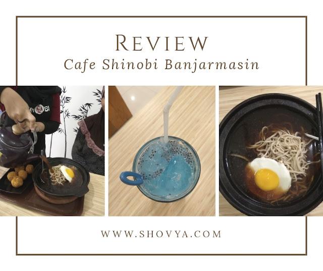 Coba Makan Makanan Ninja Desa Konoha di Cafe Shinobi Banjarmasin