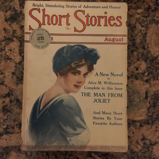 My find of the show - an early issue of Short Stories from 1915