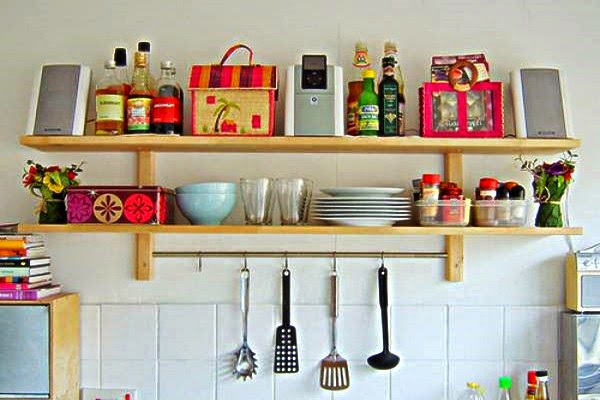 Model dapur minimalis 6 inspirasi desain dapur kecil dan for Kitchen set unik