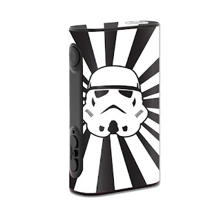 Star Rays Sticker For Eleaf iPower 80W