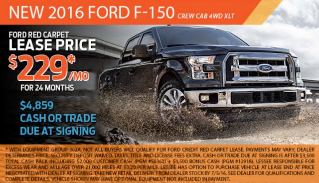 Gresham Ford $229/mo. Lease Special on a New F150