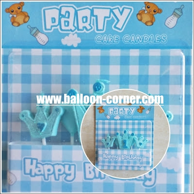 Lilin Ultah Motif 1 First Baby Boy