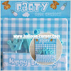 Lilin Ultah Motif 1 First Baby Boy & 1 First Baby Girl