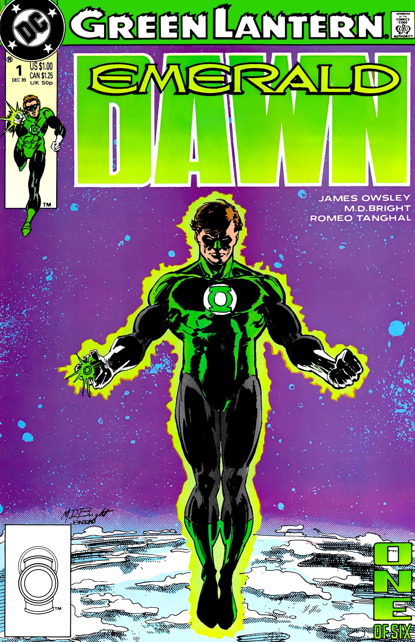 Green Lantern: Emerald Dawn 1 Page 1
