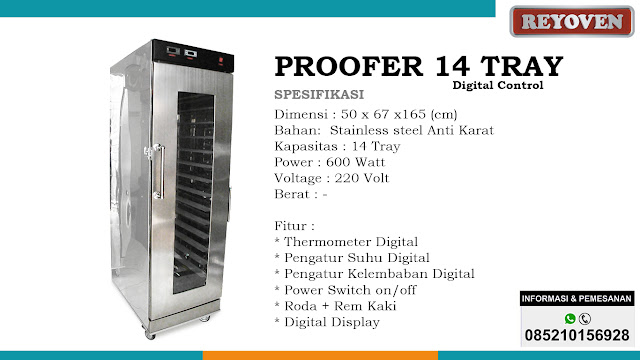 Proofer 14 Tray Digital Control