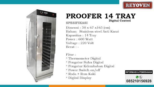 Proofer 14 Tray Digital Control