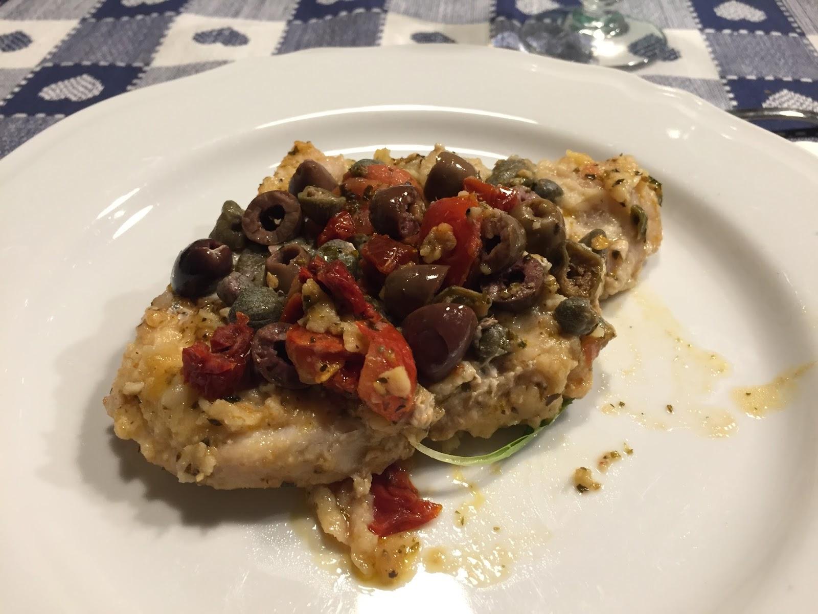 cucina con amici: Pesce spada pomodorini e olive di ... Verdiana