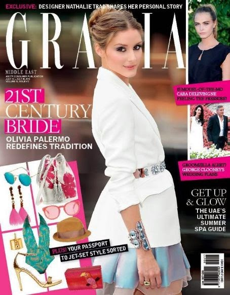 Olivia Palermo Magazine Covers