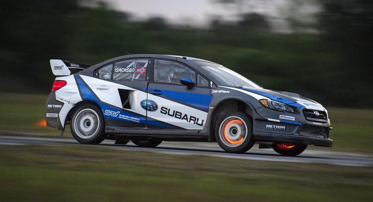 Subaru Rally Team Usa Commits To Global Rallycross