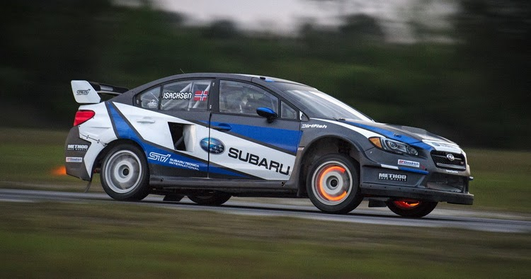 subaru rally team usa commits to global rallycross championship. Black Bedroom Furniture Sets. Home Design Ideas