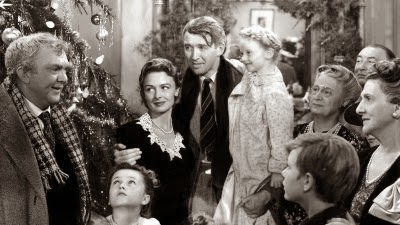 "James Stewart stars in ""It's a Wonderful Life"""