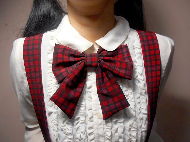 Anime DIY - Japanese School Girl Bow Tie