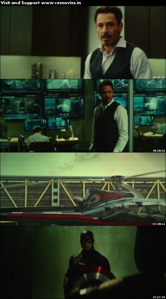 Captain America Civil War 2016 English 480p HDTC