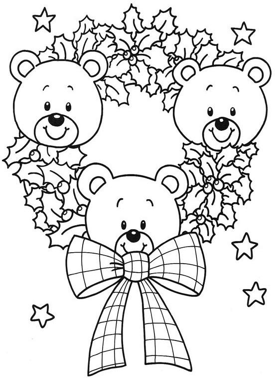 Baú da Web Desenhos de enfeites de Natal para colorir