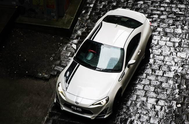 Toyota Announces 86 Blackline Edition