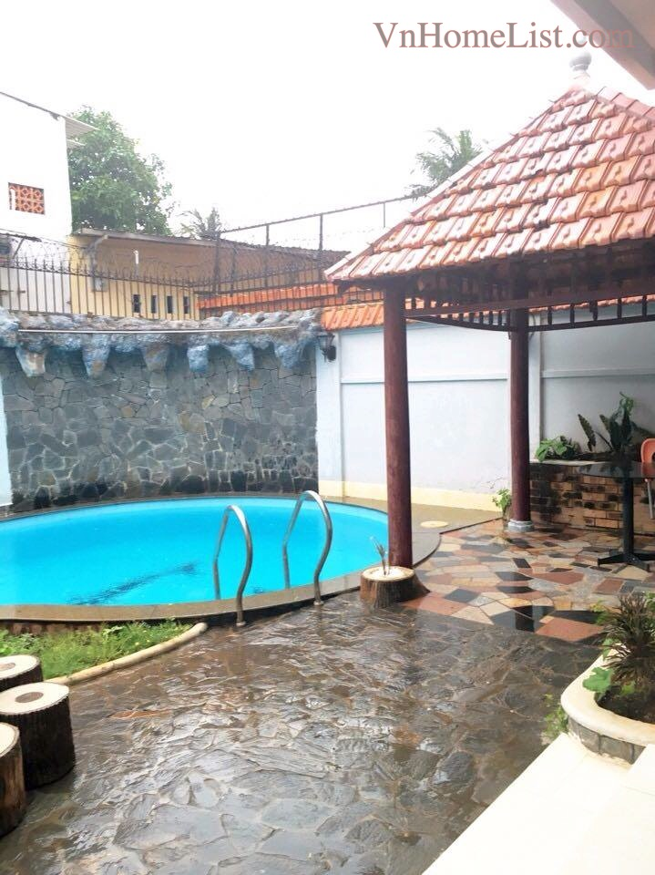 Villa for Rent Vung Tau Beautiful GARDEN private SWIMMING POOL