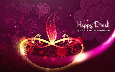 Go Green Happy Diwali Wishes