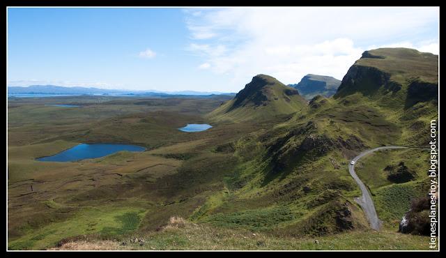 Quiraing Isla de Skye (Escocia)